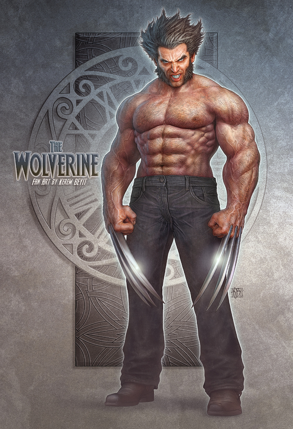 character design-digital art-drawing-illustration-wolverine-fan art-1