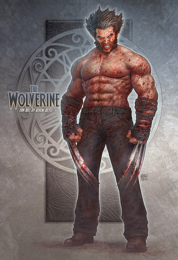 character design-digital art-drawing-illustration-wolverine-fan art-2