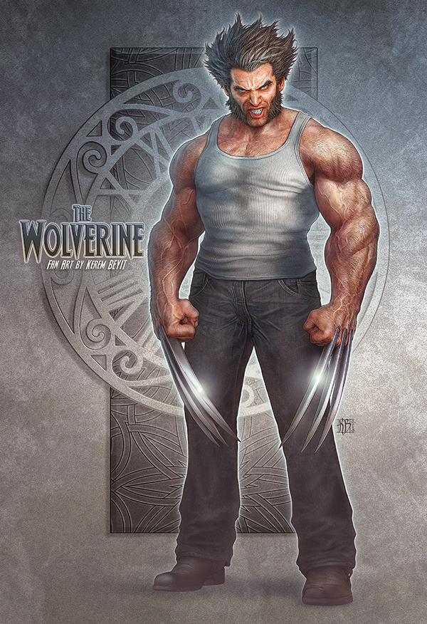 character design-digital art-drawing-illustration-wolverine-fan art-3