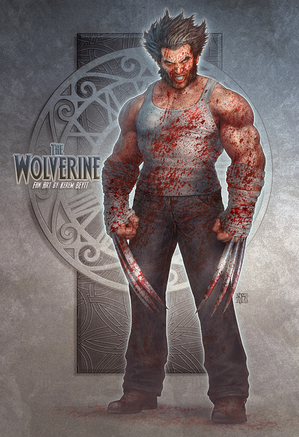 character design-digital art-drawing-illustration-wolverine-fan art-4