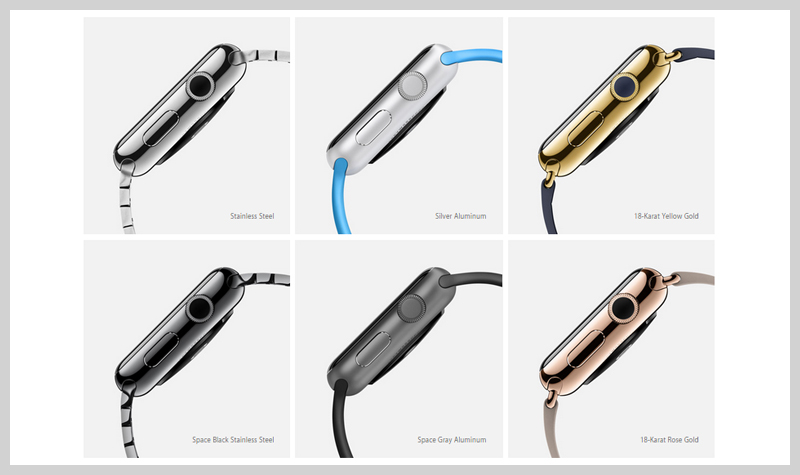 different-apple-watches