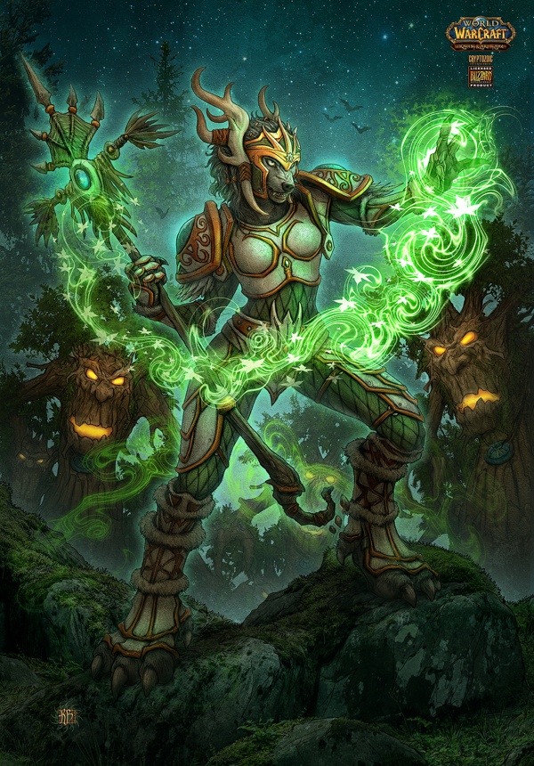 digital art-game design-painting-wow tcg-12