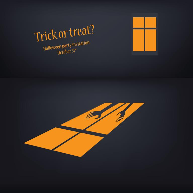 5 Free Halloween Party Invitation Designs Vectors (October 31st) 2014