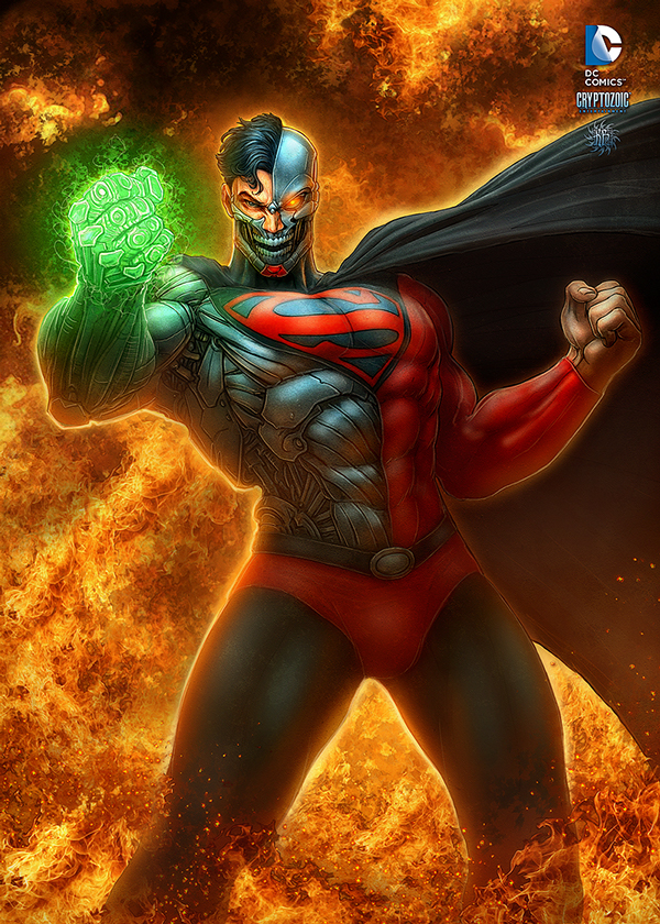 superman-the legend-character design-digital art-drawing-illustration