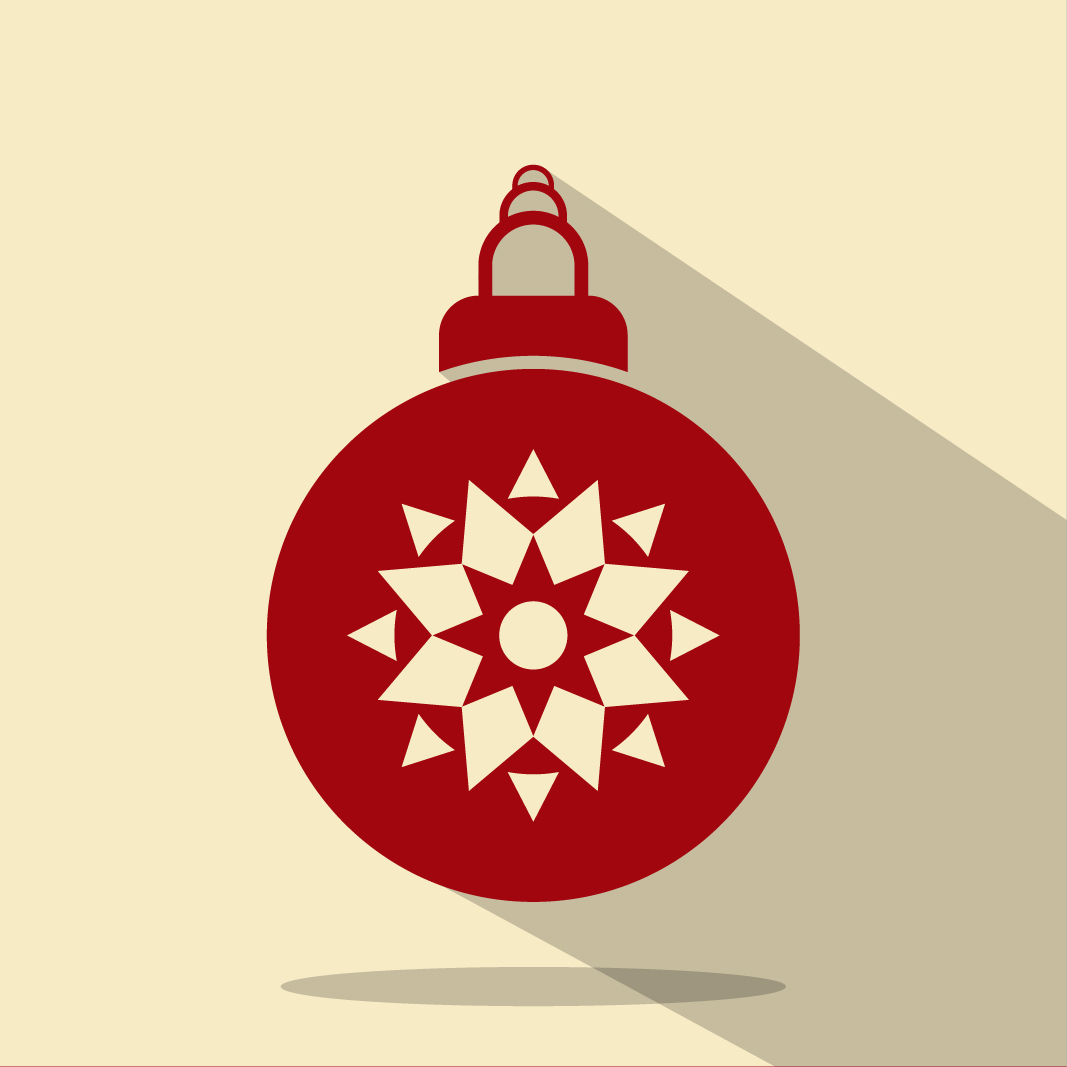 Free christmas balls vectors a graphic world