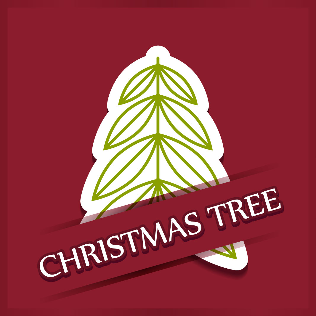 40 free christmas tree Vectors 2014-01