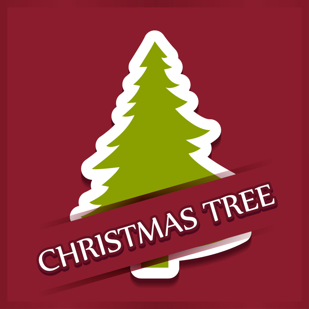 40 free christmas tree Vectors 2014-02