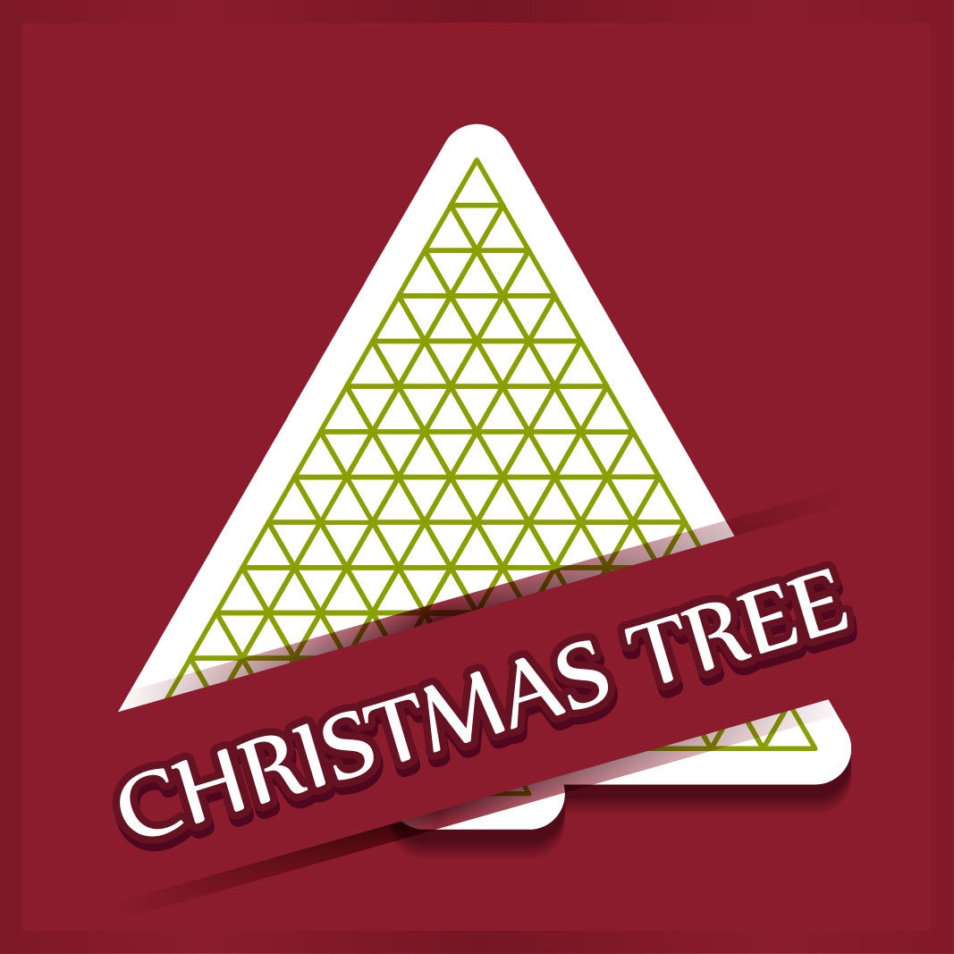 40 free christmas tree Vectors 2014-03