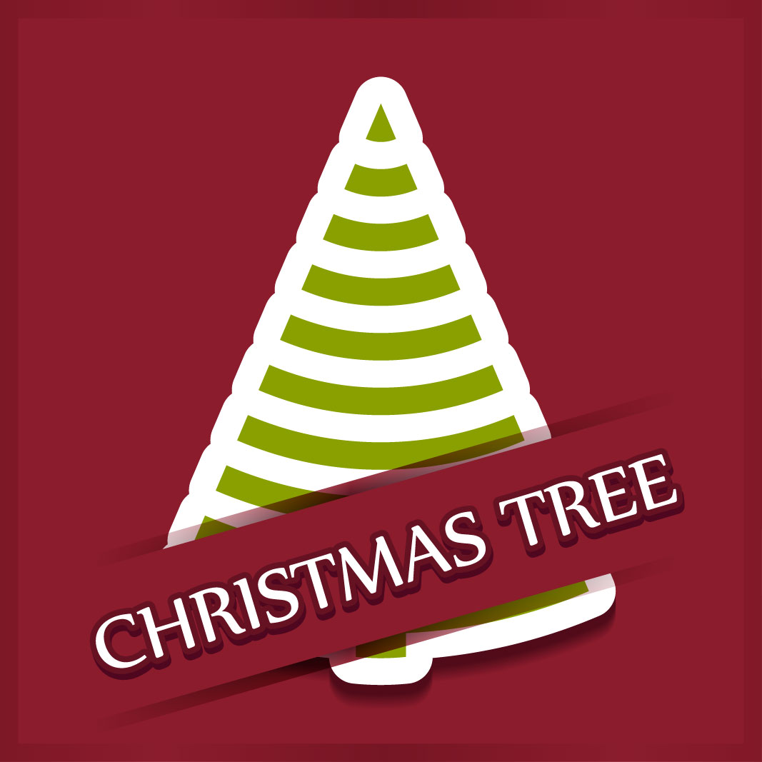 40 free christmas tree Vectors 2014-04