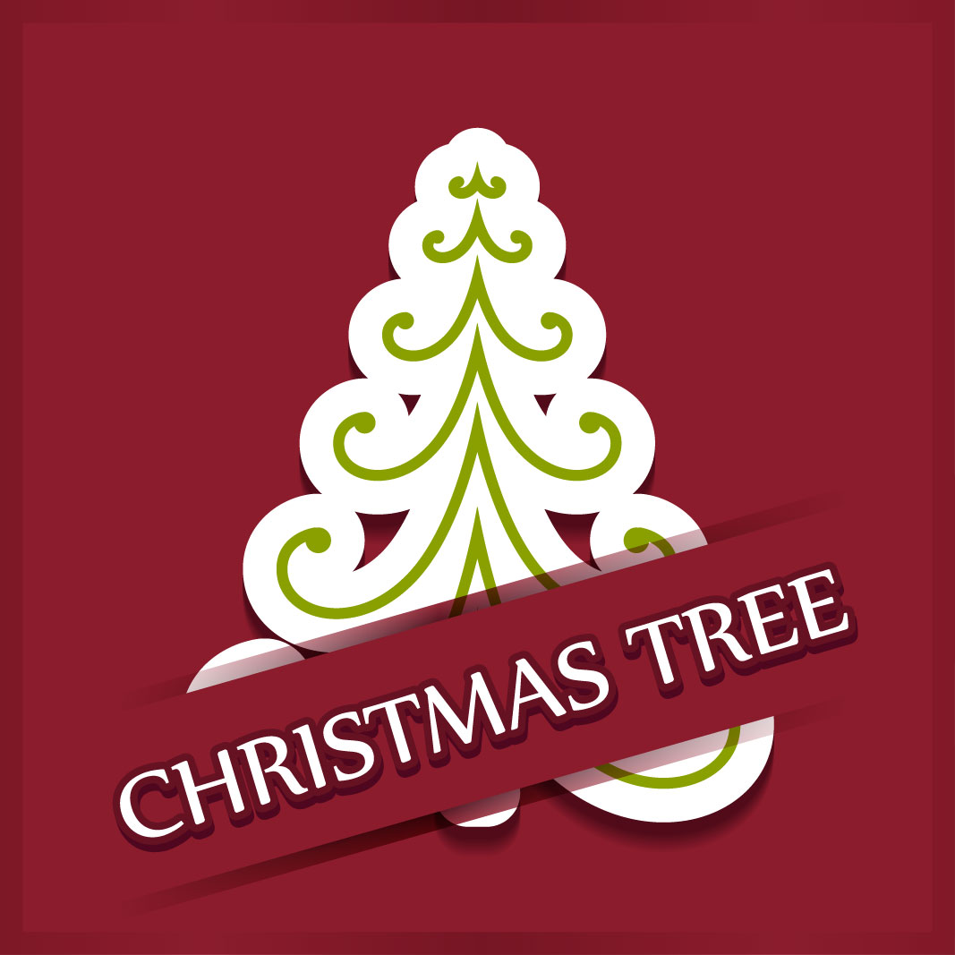 40 free christmas tree Vectors 2014-05