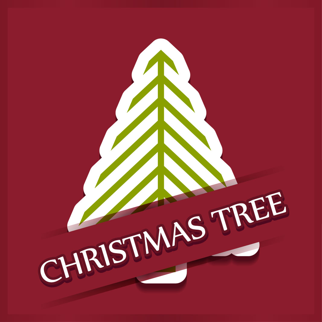 40 free christmas tree Vectors 2014-06
