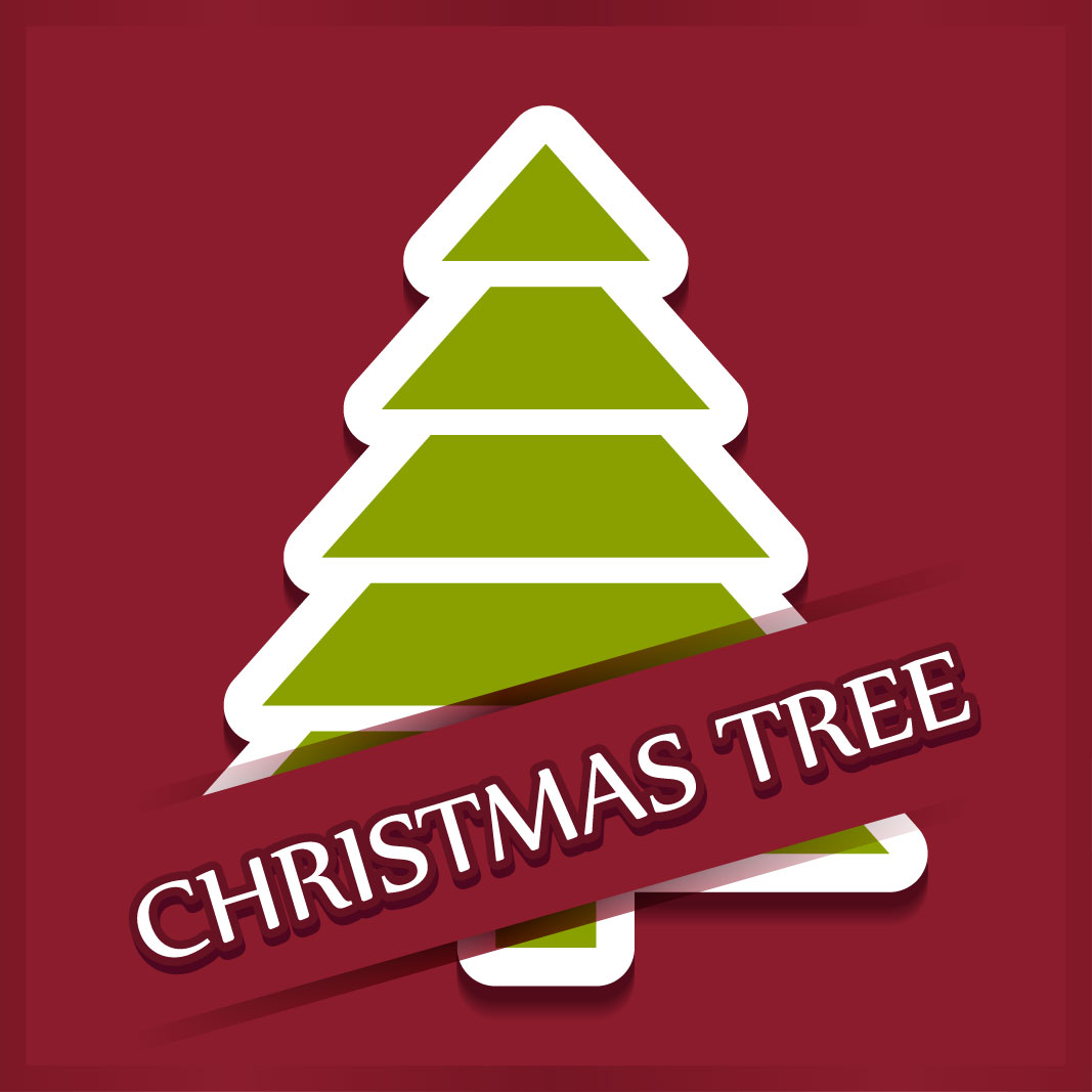 40 free christmas tree Vectors 2014-07