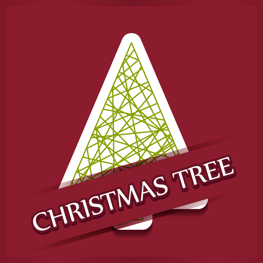 40 free christmas tree Vectors 2014-08