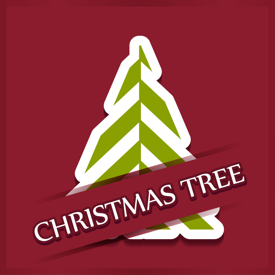40 free christmas tree Vectors 2014-09