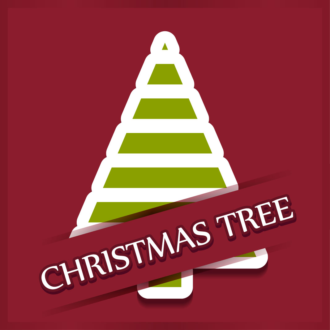 40 free christmas tree Vectors 2014-12