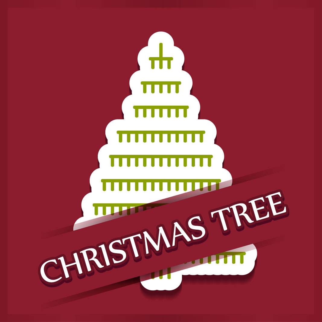 40 free christmas tree Vectors 2014-13