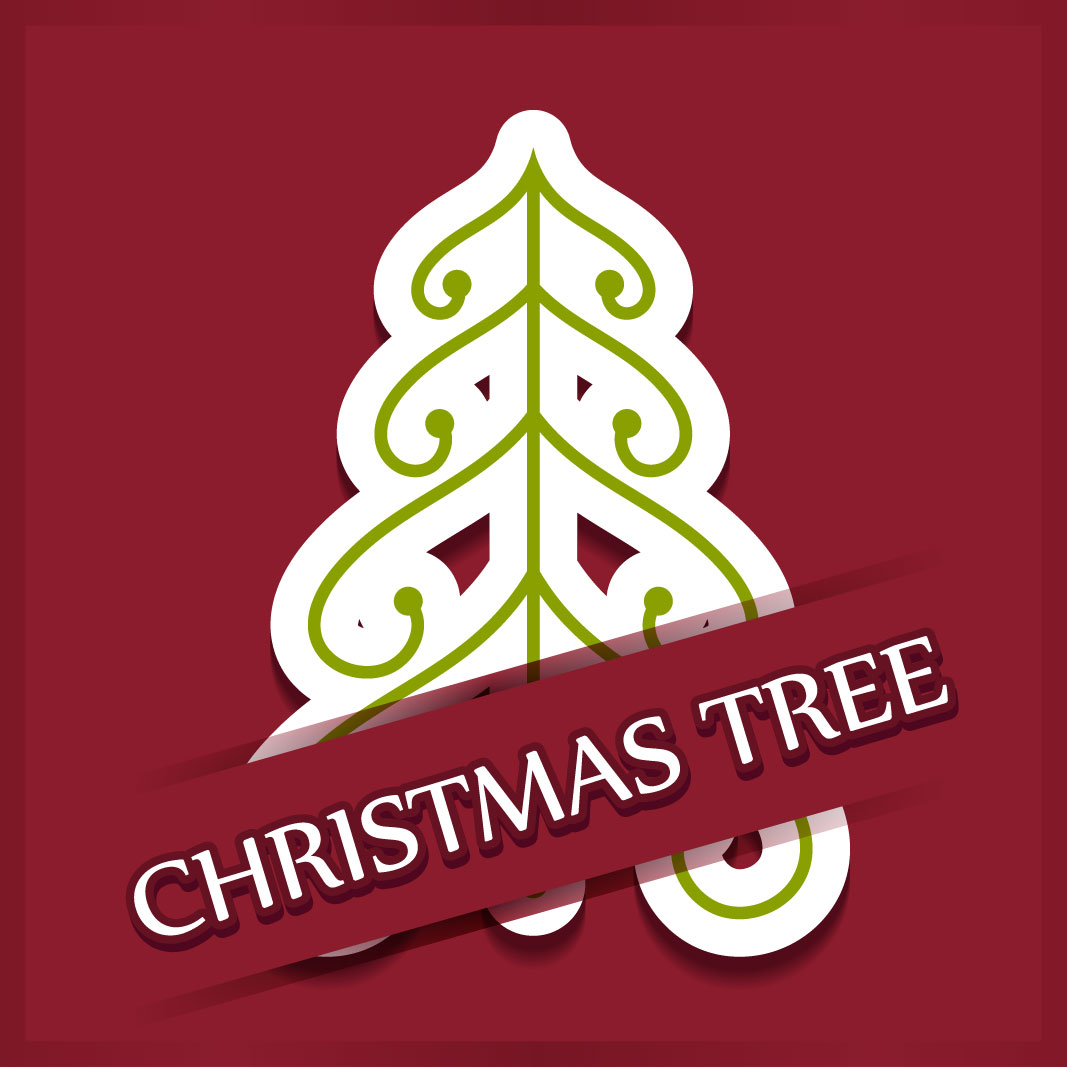 40 free christmas tree Vectors 2014-14
