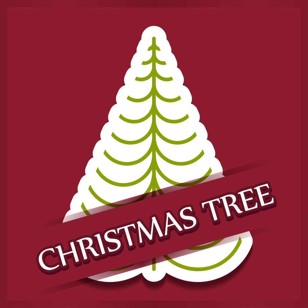 40 free christmas tree Vectors 2014-15