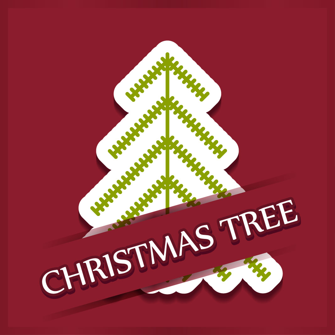 40 free christmas tree Vectors 2014-16