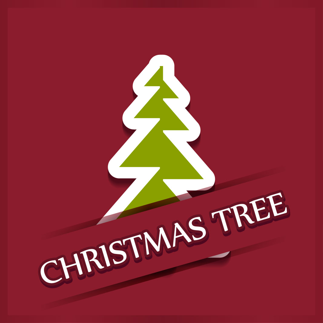 40 free christmas tree Vectors 2014-17