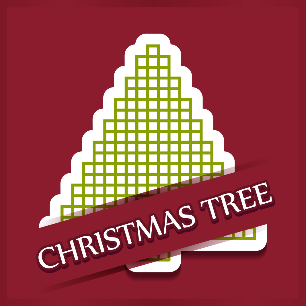40 free christmas tree Vectors 2014-19