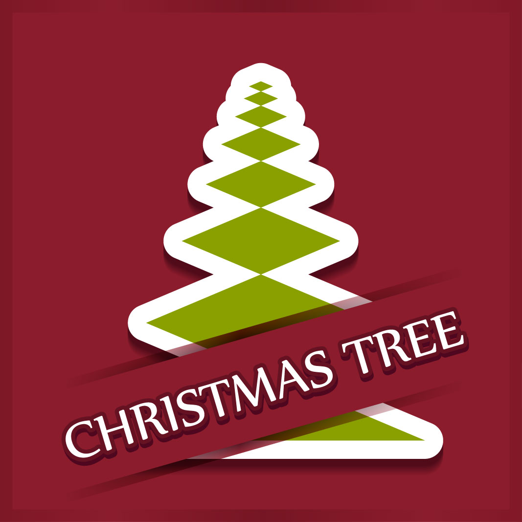 40 free christmas tree Vectors 2014-20