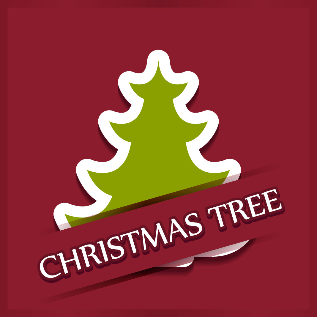 40 free christmas tree Vectors 2014-22