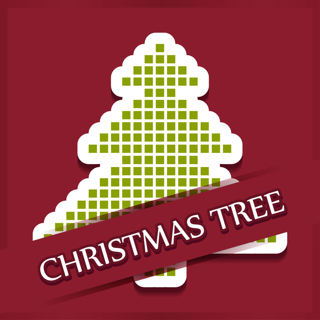 40 free christmas tree Vectors 2014-23
