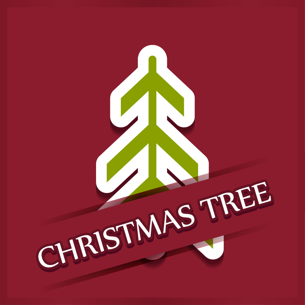 40 free christmas tree Vectors 2014-24