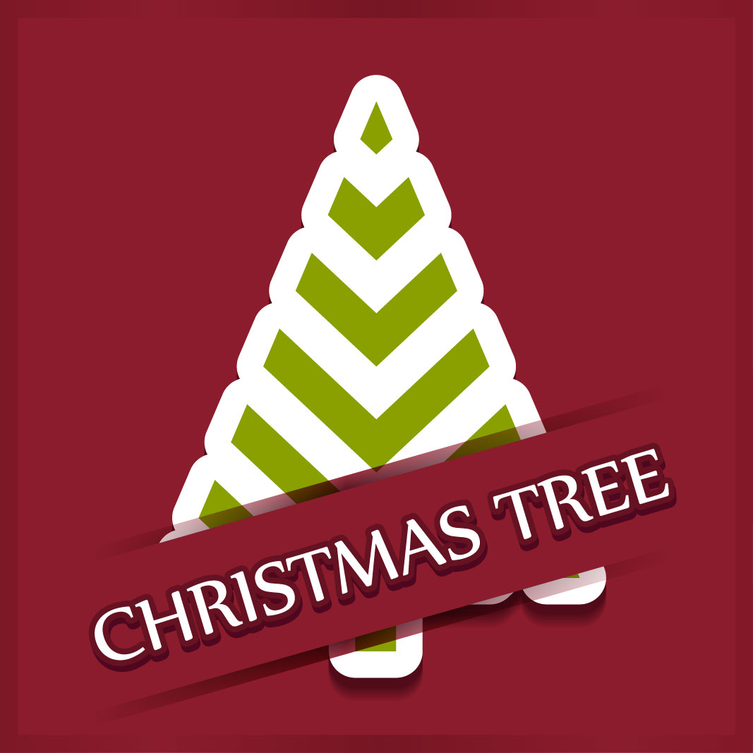 40 free christmas tree Vectors 2014-25