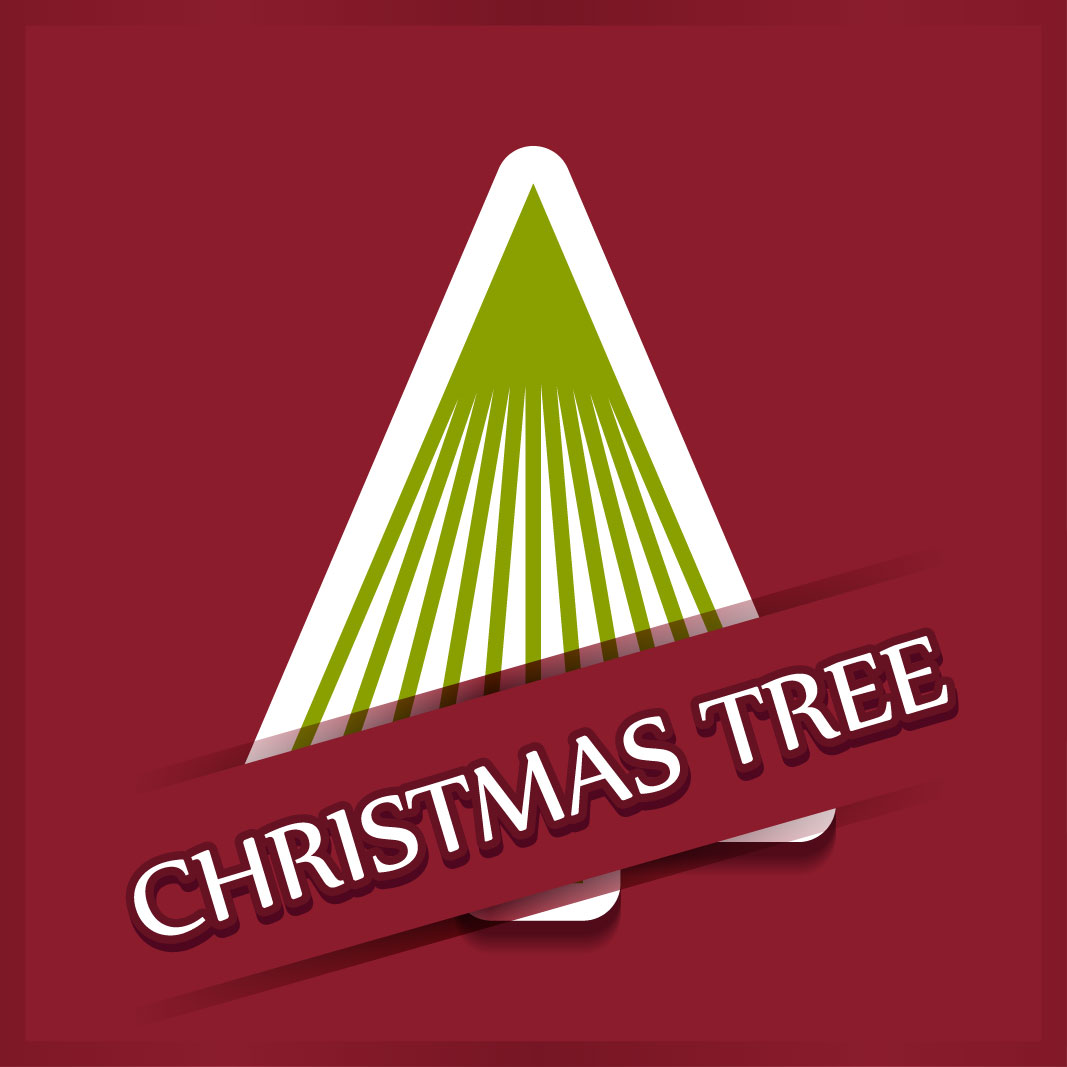 40 free christmas tree Vectors 2014-26