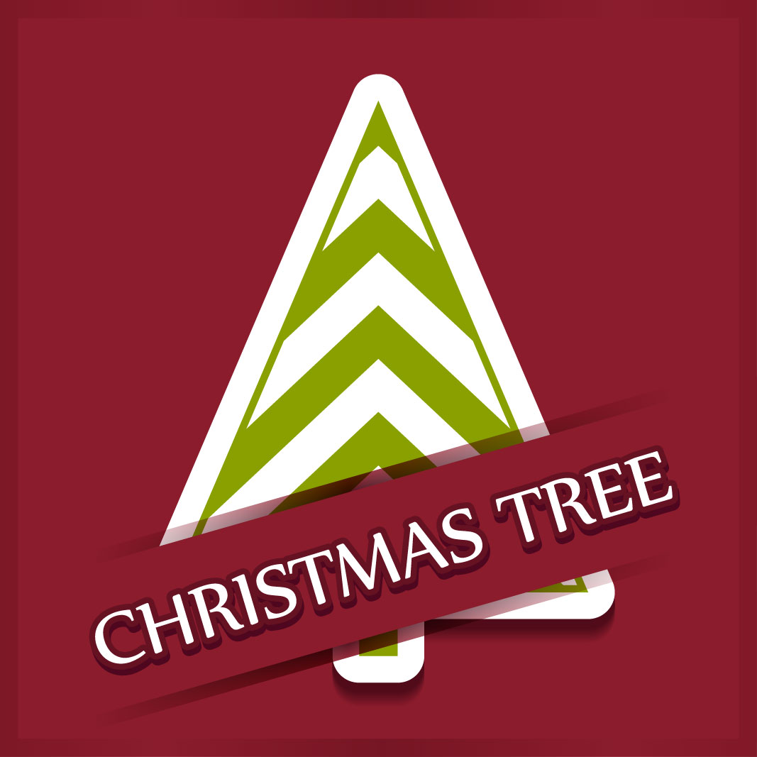 40 free christmas tree Vectors 2014-28