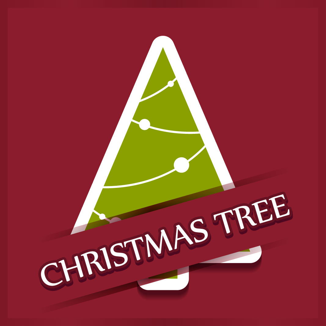 40 free christmas tree Vectors 2014-29