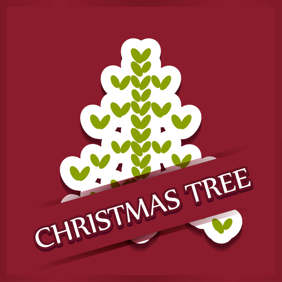 40 free christmas tree Vectors 2014-32