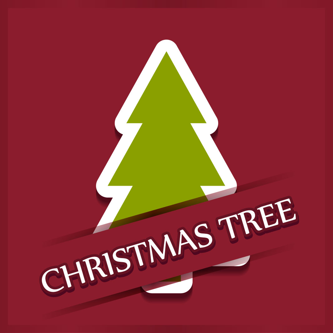 40 free christmas tree Vectors 2014-34