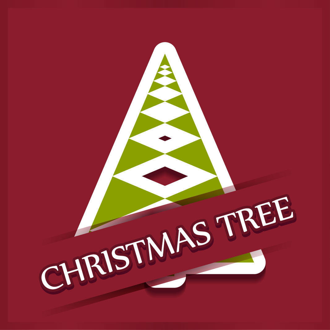 40 free christmas tree Vectors 2014-38