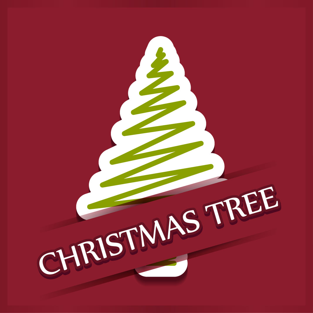 40 free christmas tree Vectors 2014-39