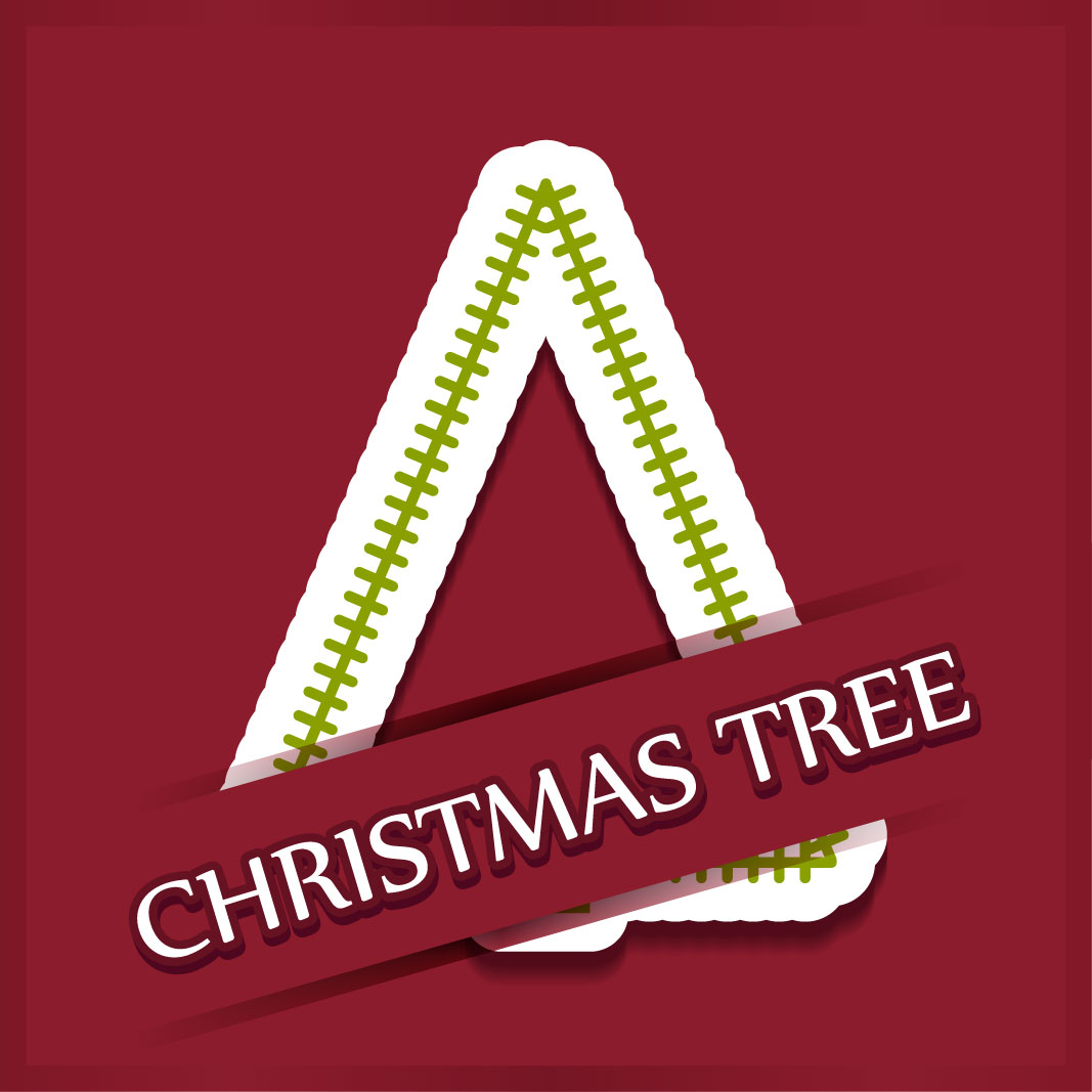 40 free christmas tree Vectors 2014-40