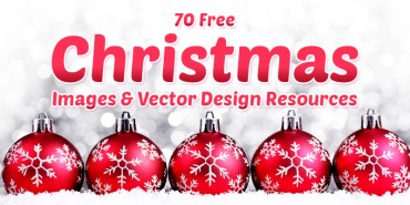 70 Free Christmas Images & Vector Design Resources 2014