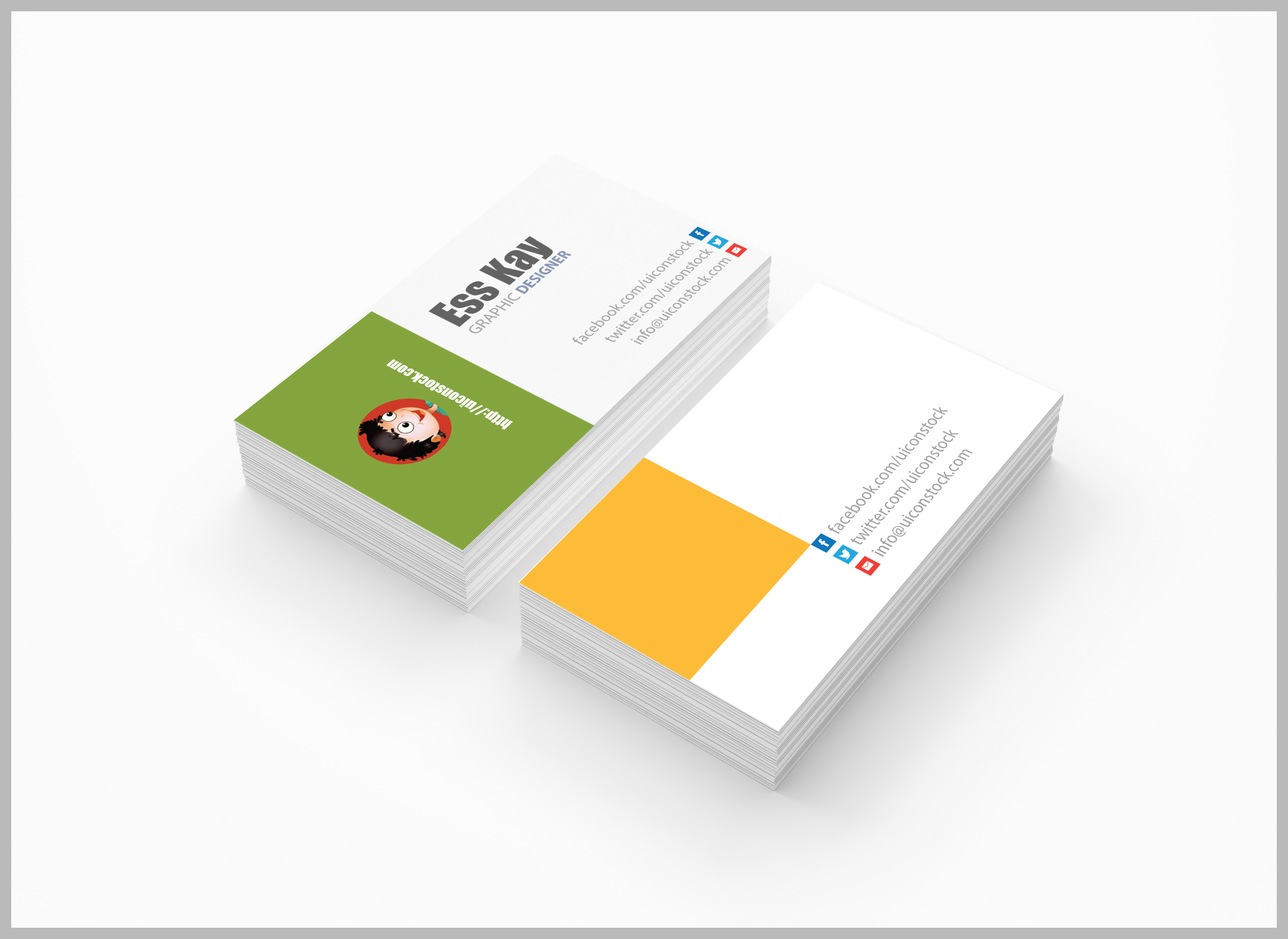 free business card design a graphic world