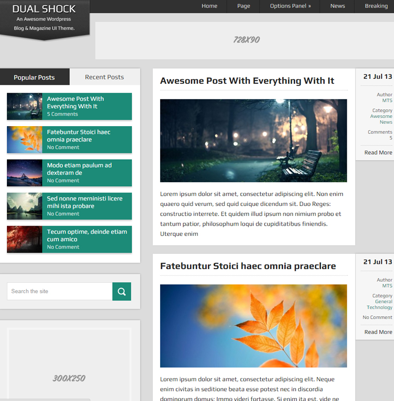 DualShock-Free-WordPress-Blogging-Theme