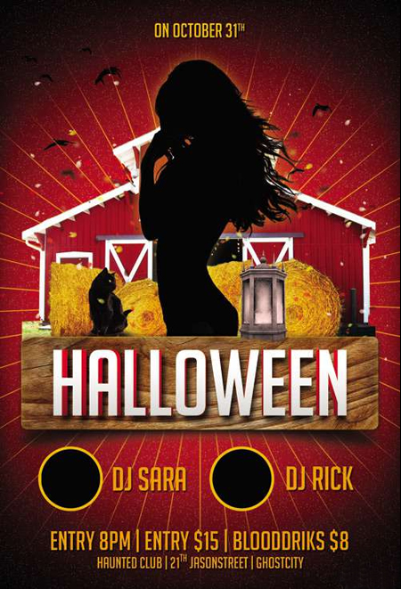 FLYER-TEMPLATE-PSD-HALLOWEEN-PARTY