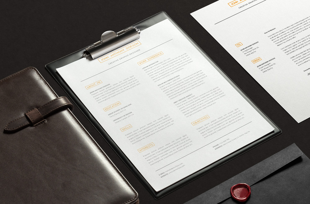 Free Resume-Cover Letter-design