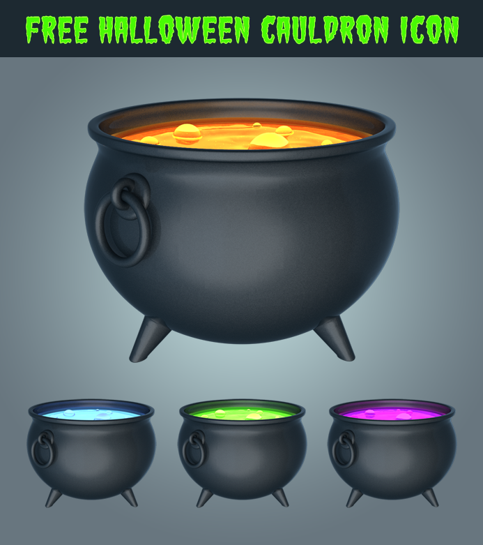 FreeHalloweenCauldronIcon-vector
