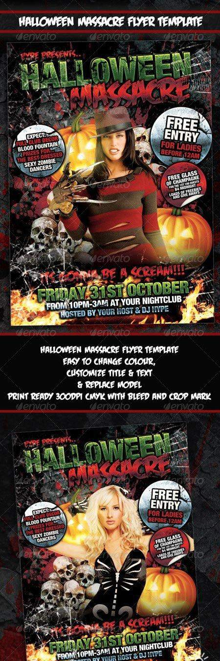 PSD-HALLOWEEN-MASSACRE-FLYER-POSTER-TEMPLATE
