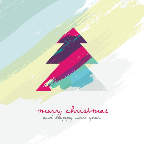 artistic_christmas_tree-business christmas cards