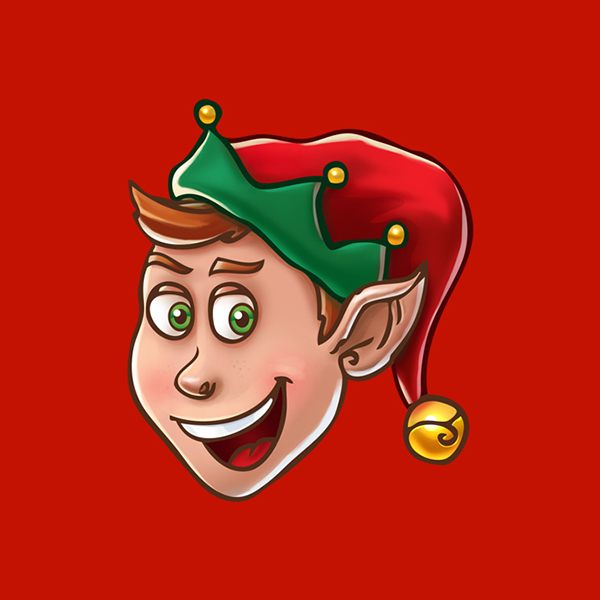 christmas_elf-business christmas cards
