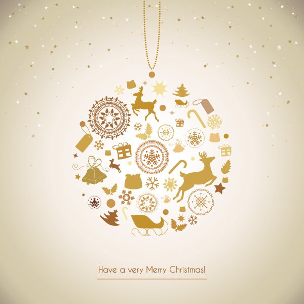 decoration_elements-business christmas cards