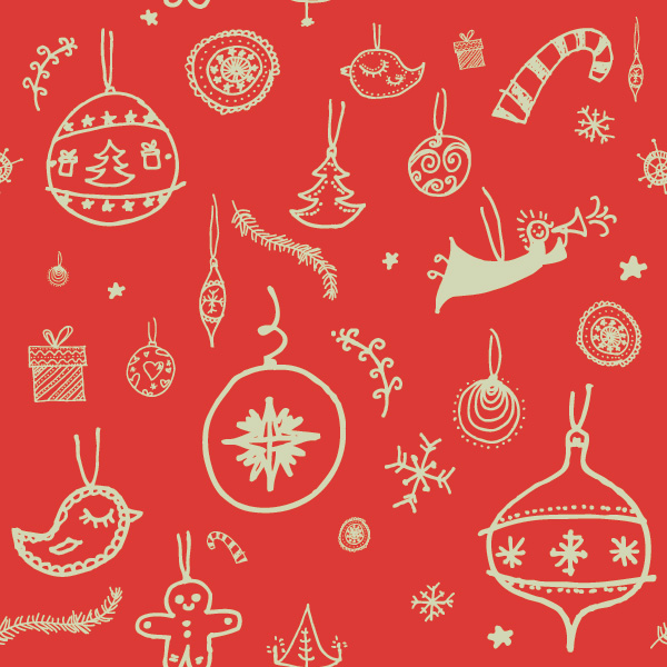 decoration_pattern-business christmas cards