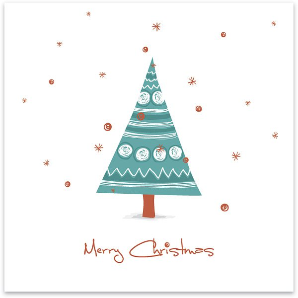 20 free business christmas cards a graphic world drawnchristmascard business christmas cards reheart Image collections